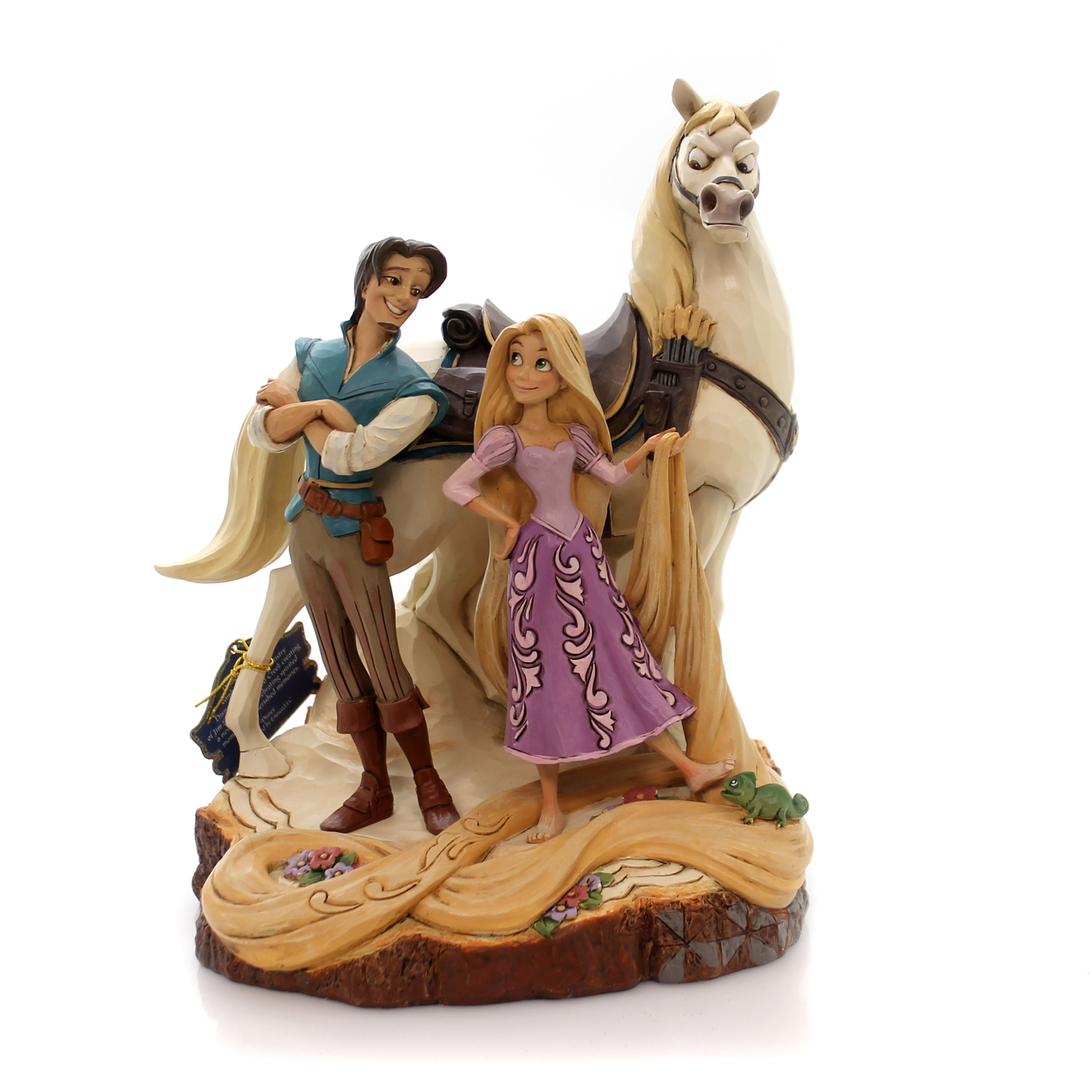Enesco E8 Disney Traditions Jim Shore Rapunzel Tangled Carved by Heart 4059736